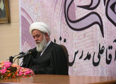 مراسم پیشهمایش حکیم طهران علامه آقاعلی مدرس تهرانی برگزار شد